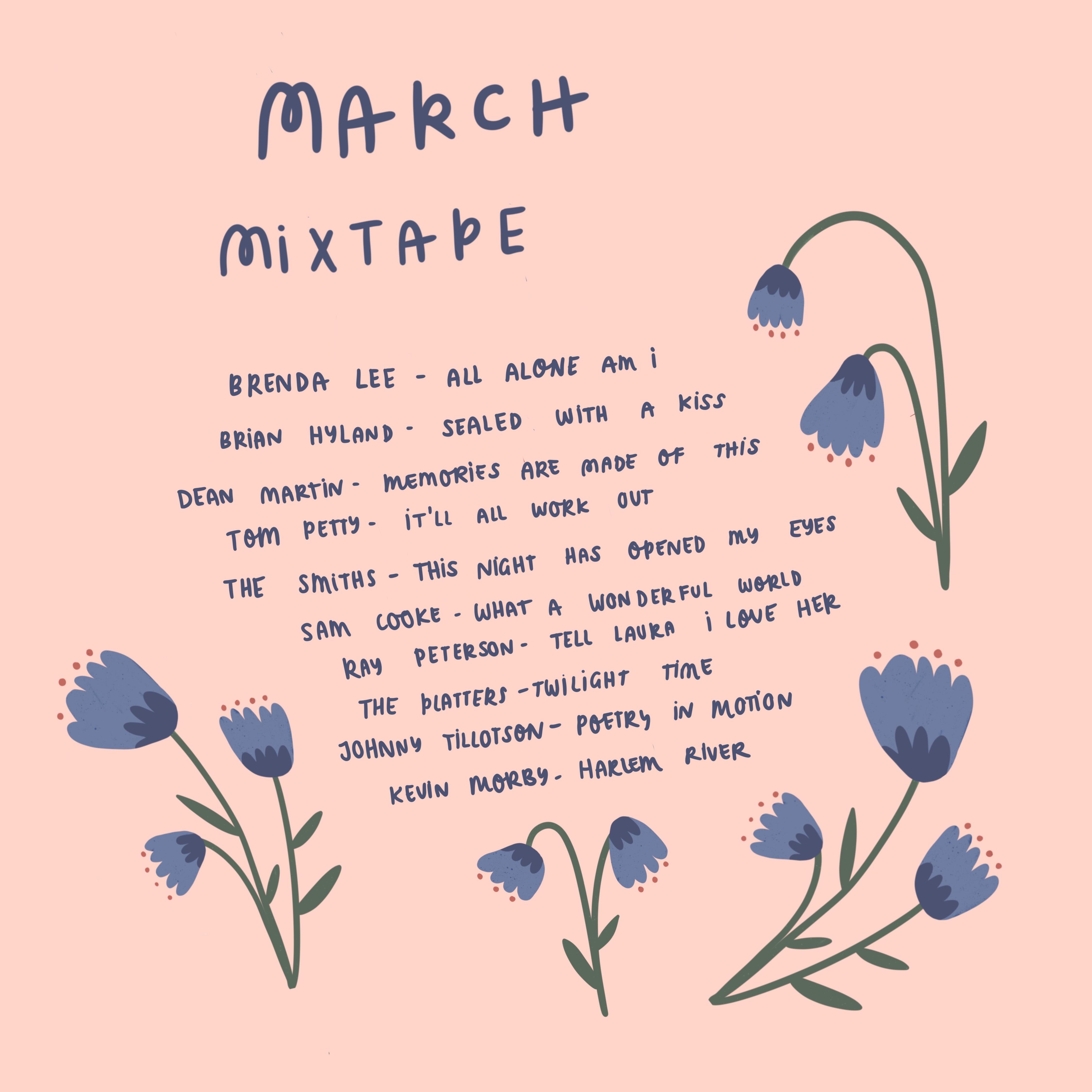 March Mixtape – Hannah Detterbeck