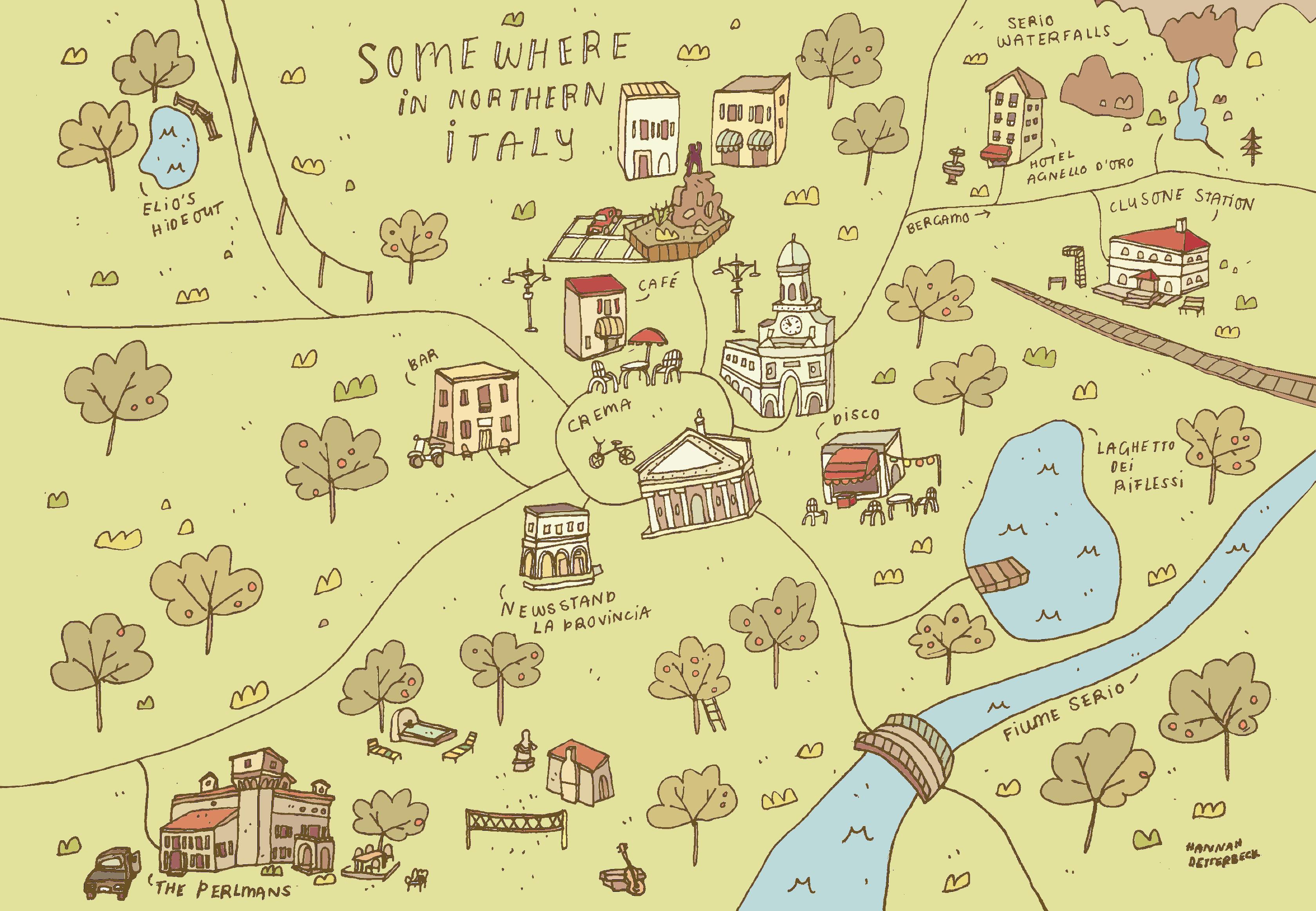 New Maps: Hogwarts, Twin Peaks U0026 Cmbyn