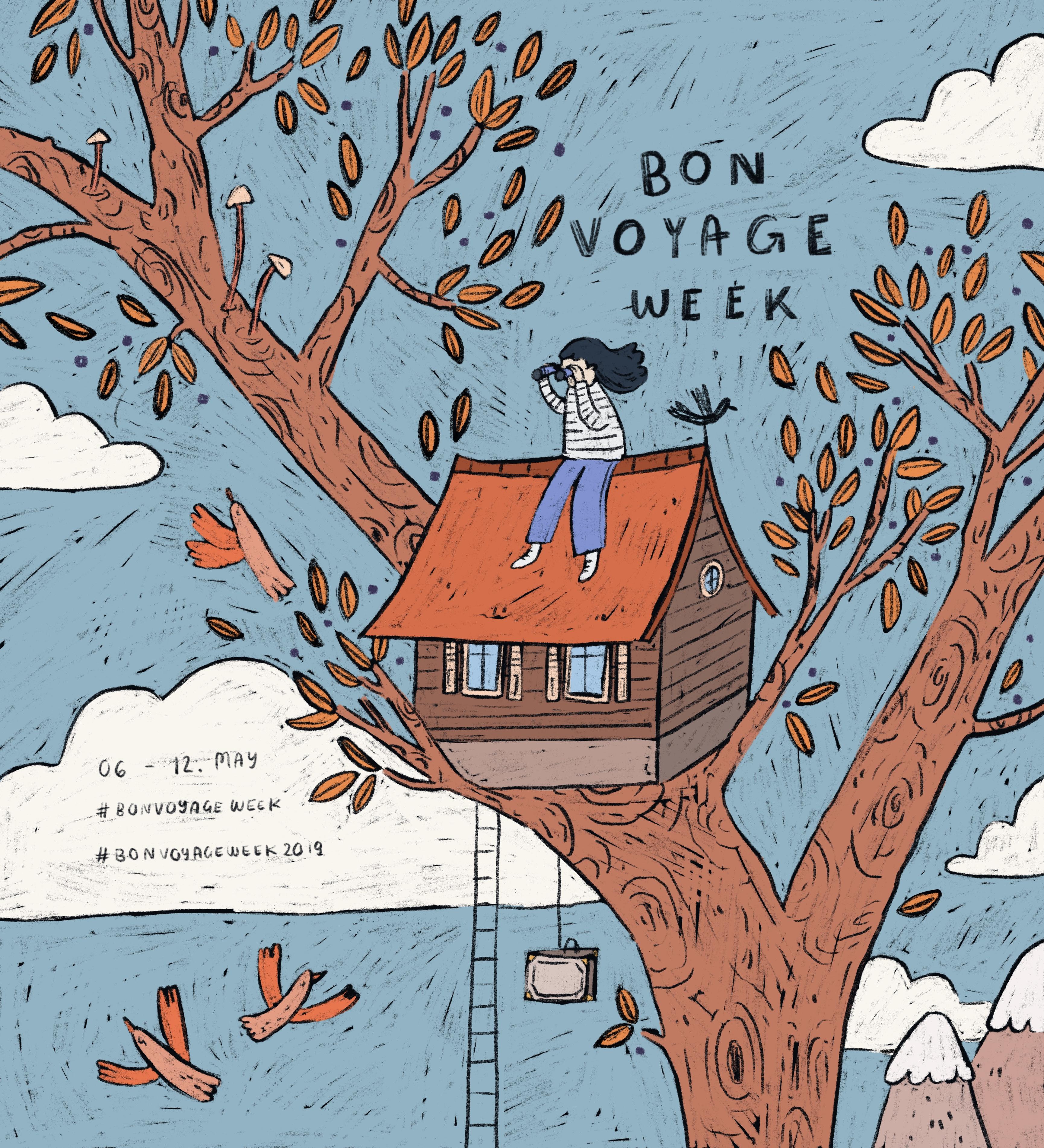 Bon Voyage Week Hannah Detterbeck